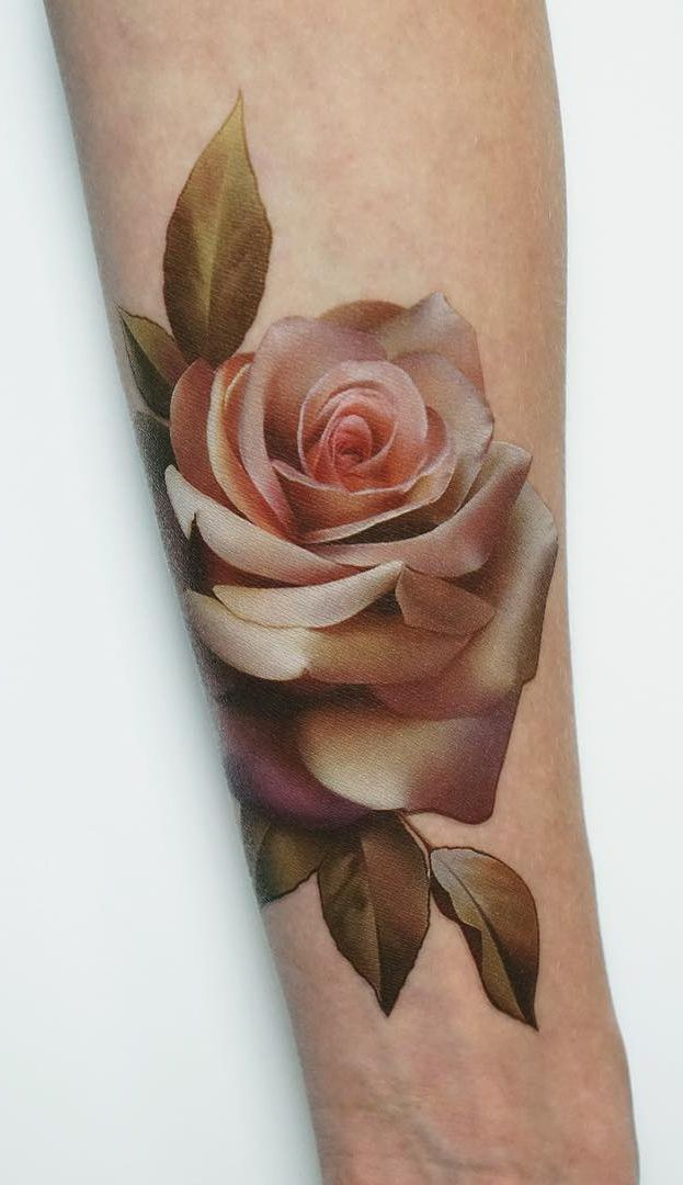 Rose And Thorns Tattoos (5)