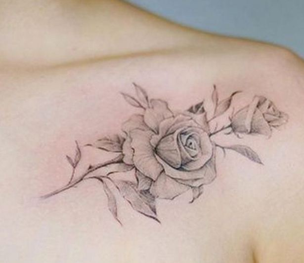 Rose Drawings Tattoos