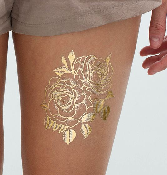 Rose Gold Tattoos