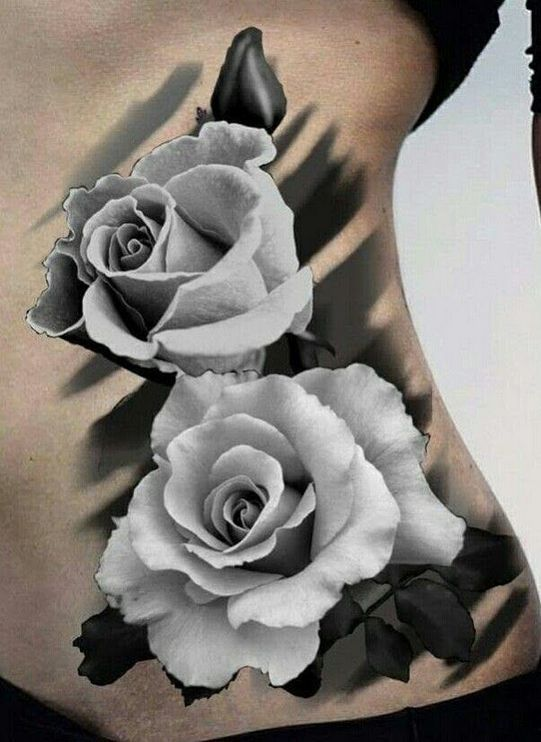 Rose Tattoos With Quotes (1)