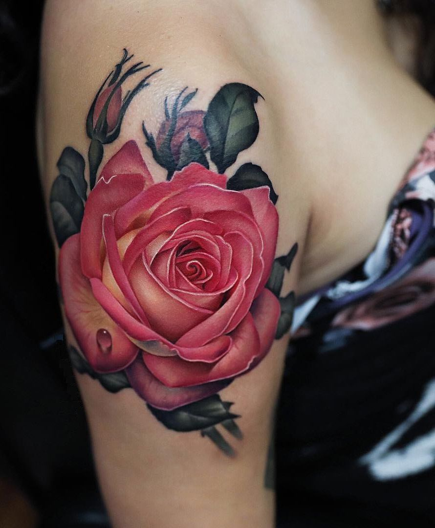 Rose Tattoos With Quotes (2)