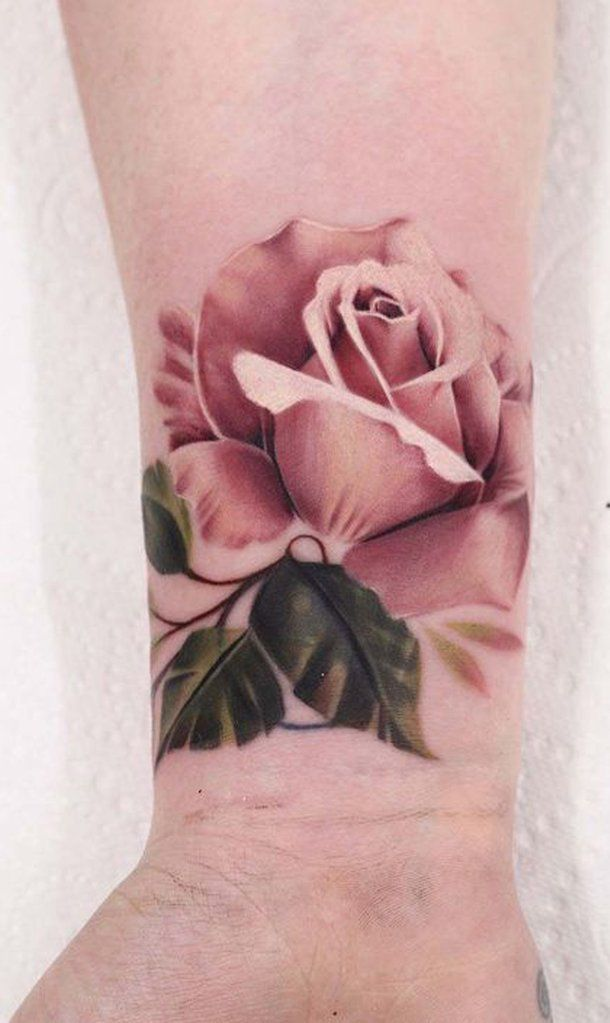 Rose Tattoos With Quotes (9)