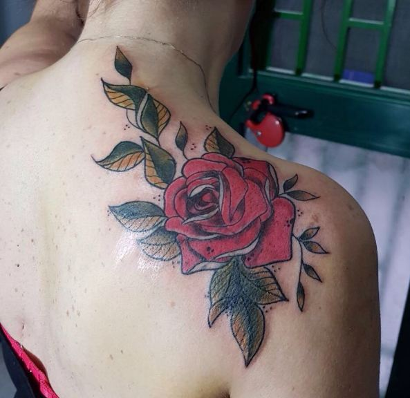 Rose Vine Tattoos