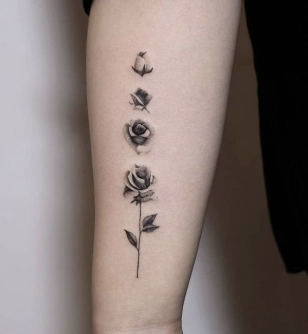 Roses On Arm Tattoos (10)