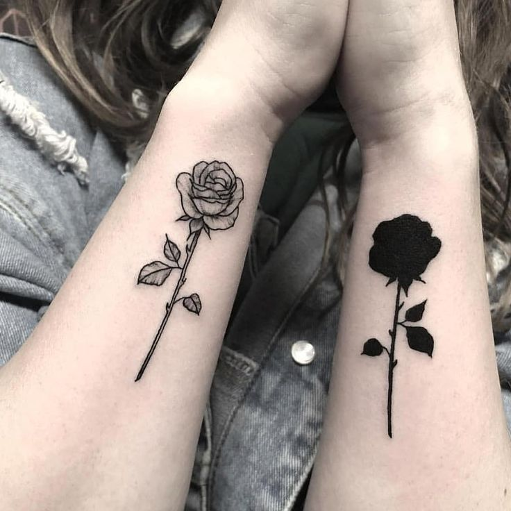 Roses On Arm Tattoos (4)