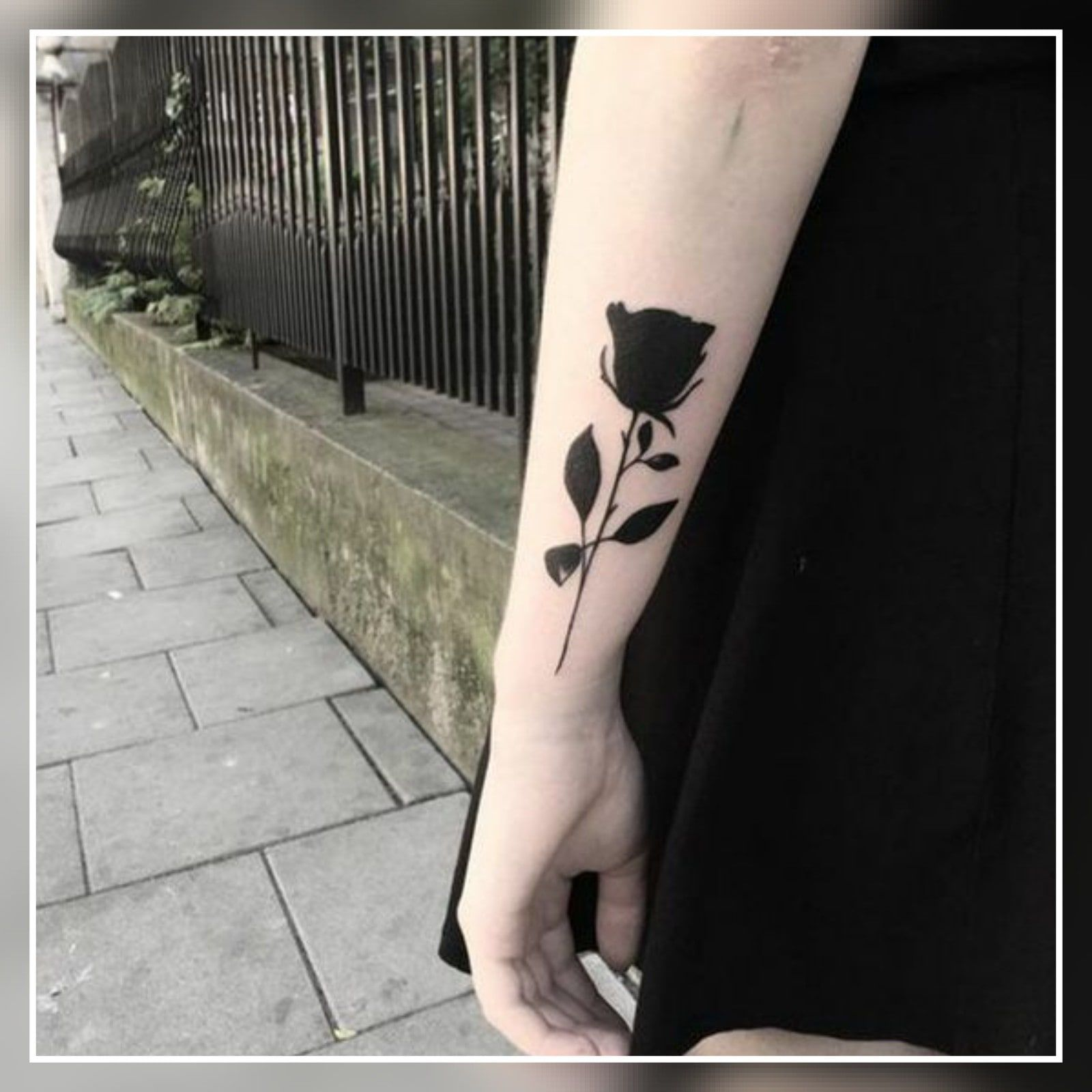 Roses Tattoos On Side (2)