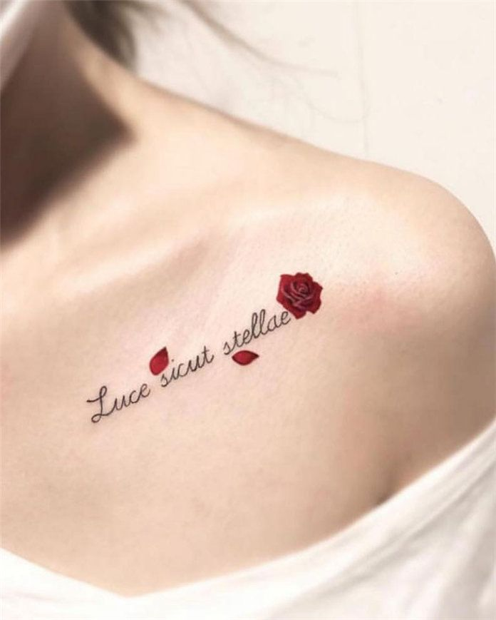 Roses With Names Tattoos (11)