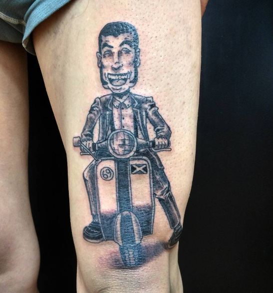 Scooters Memorial Tattoos