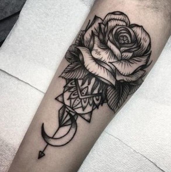 Shin Leg Tattoos
