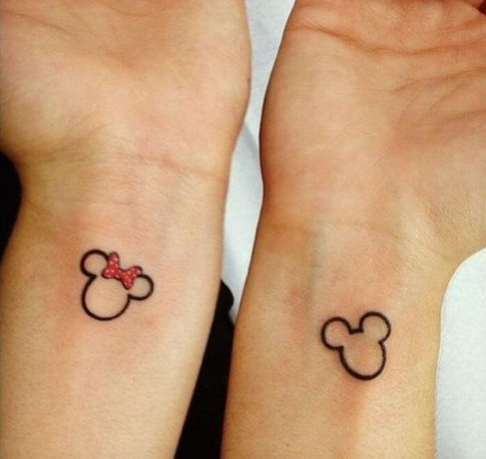 Simple Couple Tattoos