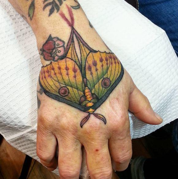 Simple Hand Tattoos