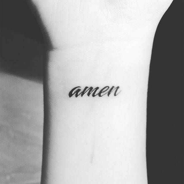 Single Word Tattoos Inspirational (104)