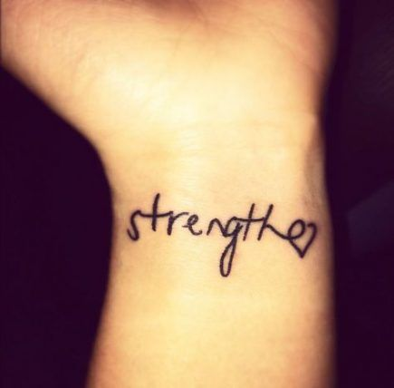 Single Word Tattoos Inspirational (11)