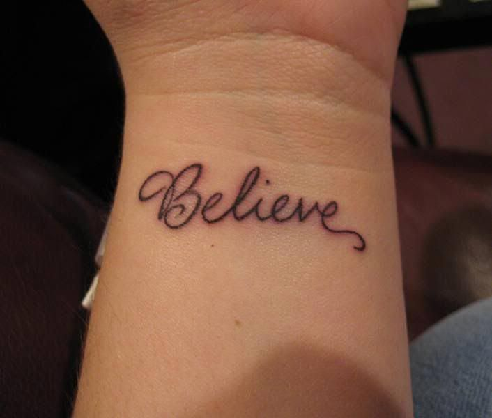 Single Word Tattoos Inspirational (17)