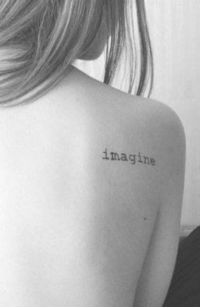 Single Word Tattoos Inspirational (19)