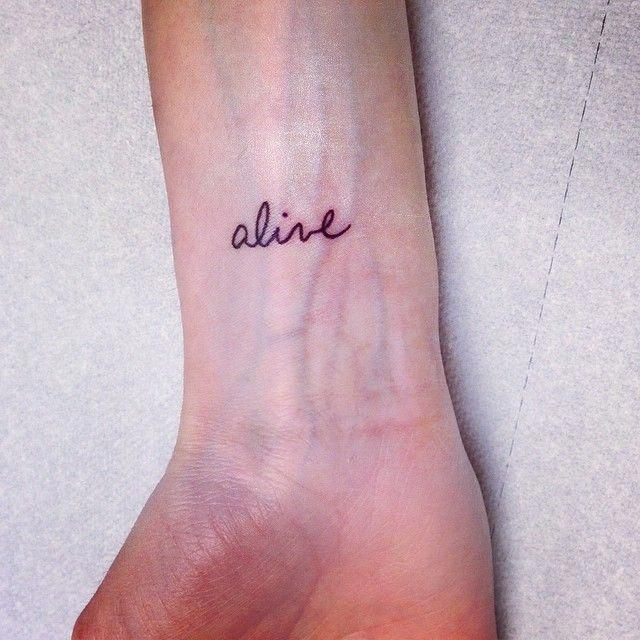 Single Word Tattoos Inspirational (53)