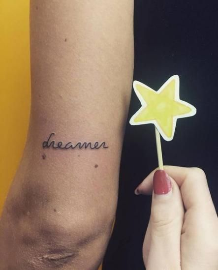 Single Word Tattoos Inspirational (83)