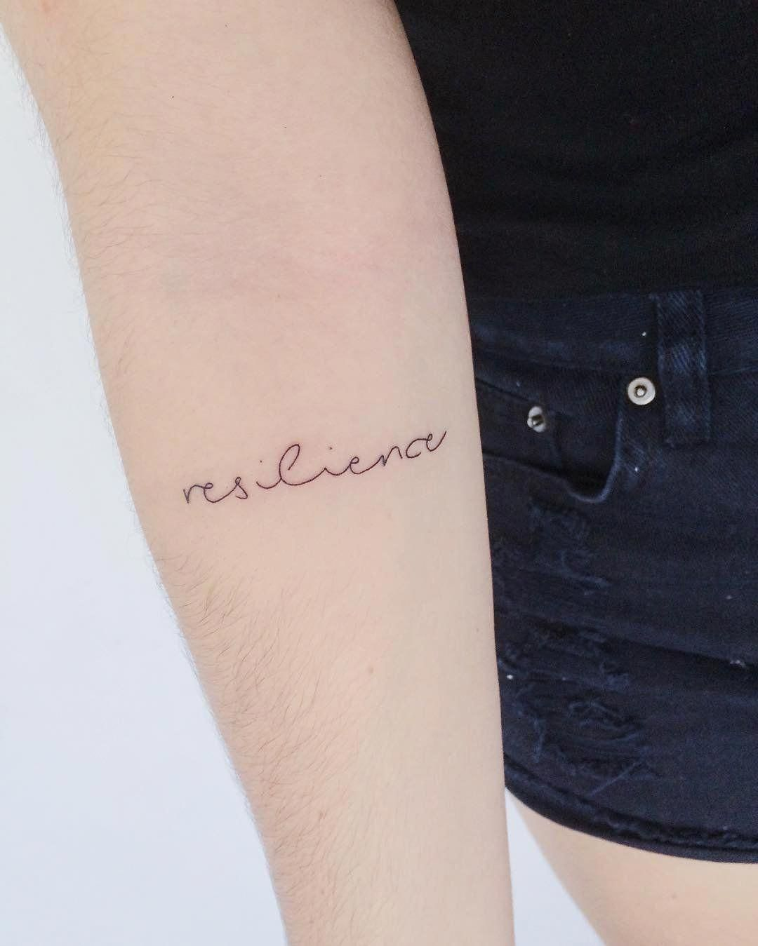 Single Word Tattoos Inspirational (90)