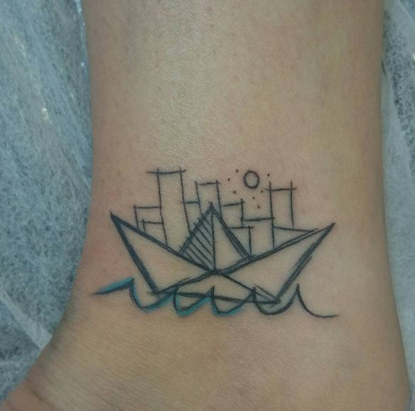 Sketch Style Mini Malistic Tattoos