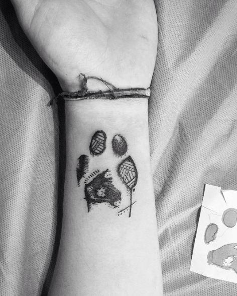 Sketch Style Tattoos On Wrist