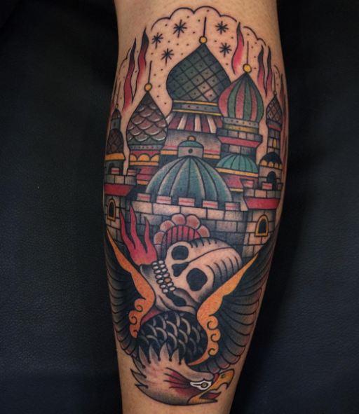 Skull California Tattoos