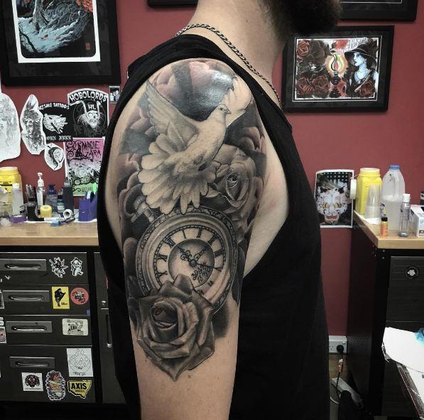 Sleeve Tattoos Half