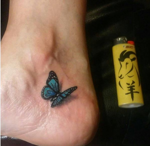 Small Butterfly Tattoos 1