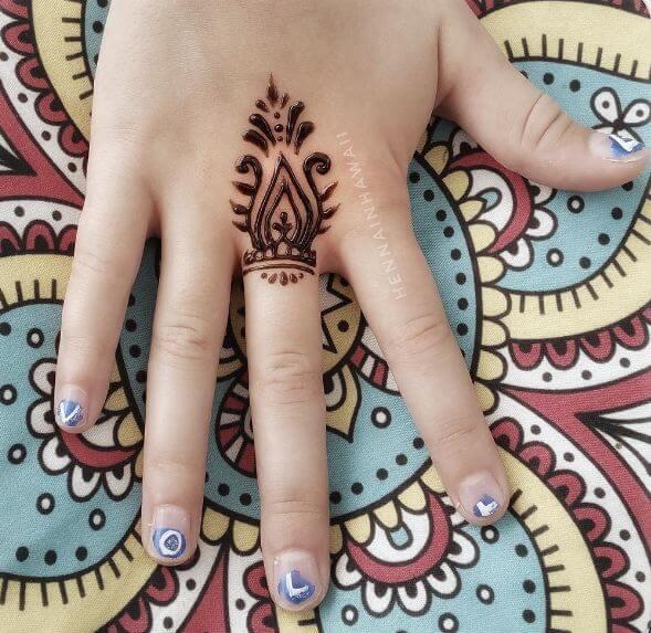 Small Henna Tattoo