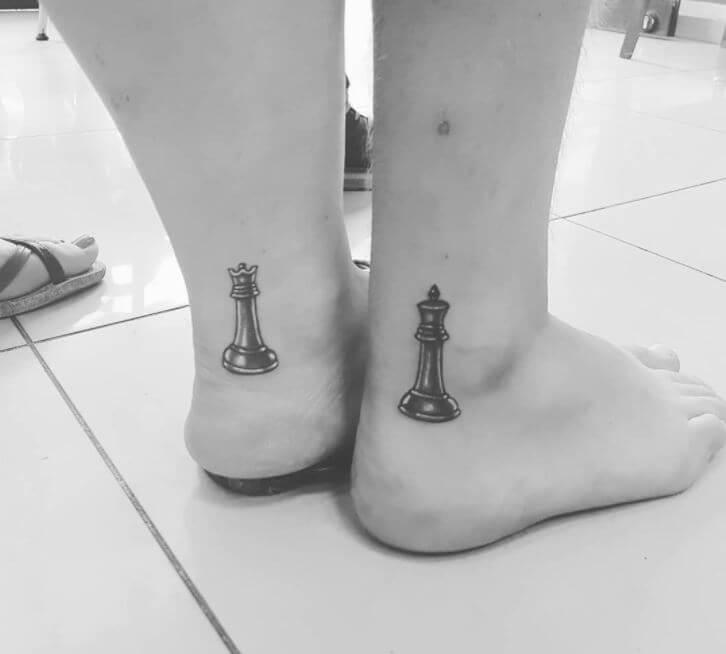 Small Matching Couple Tattoos