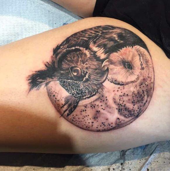Snowy Owl Tattoos