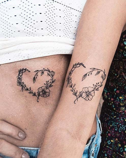 Son And Daughter Tattoo (2)