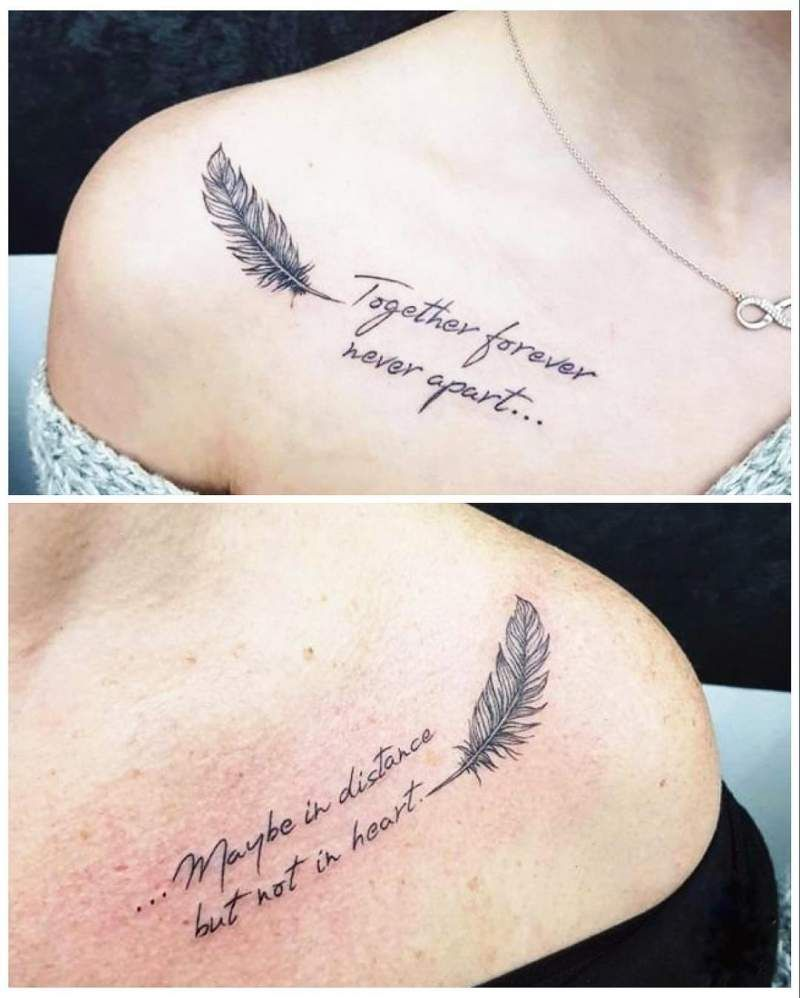 Son And Daughter Tattoo (6)