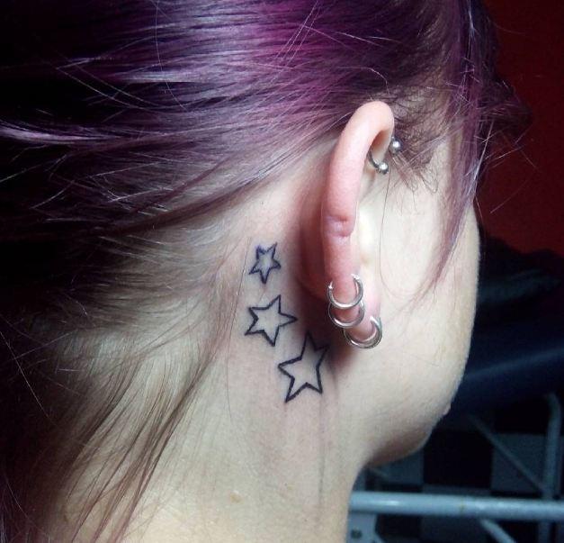 Stars Tattoos For Women