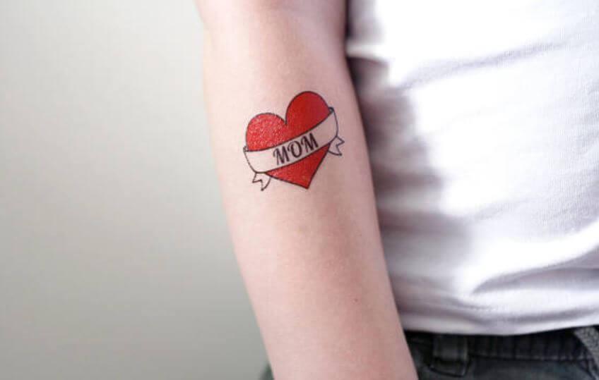 Temporary Mom Tattoo