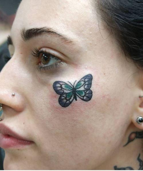 Tiny Butterfly Tattoos