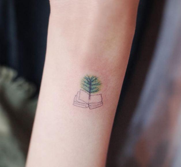 Tiny Tree Tattoos