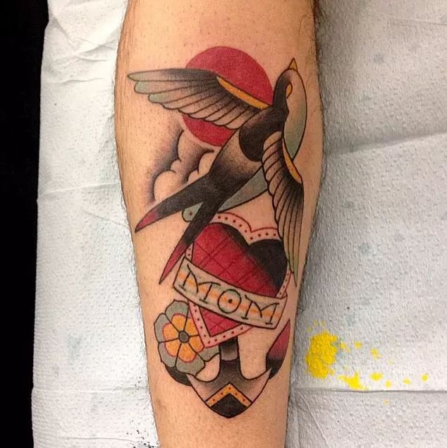 Traditional Mom Tattoos