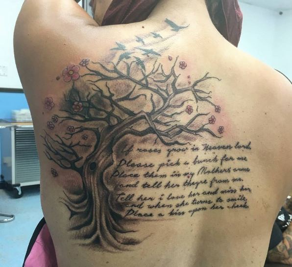 Tree Tattoos With Quotes