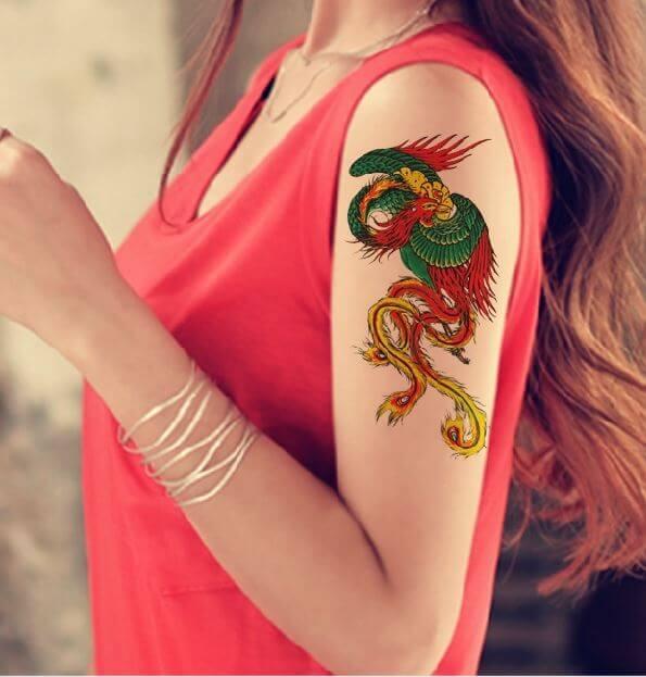 Types Of Phoenix Tattoos