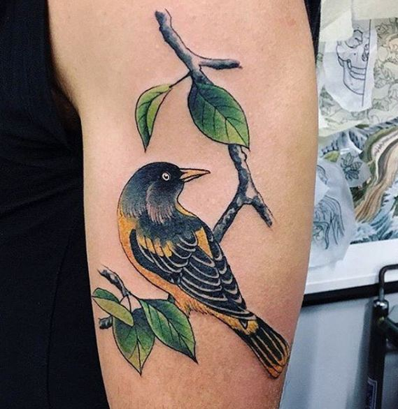 Unique Bird Tattoos