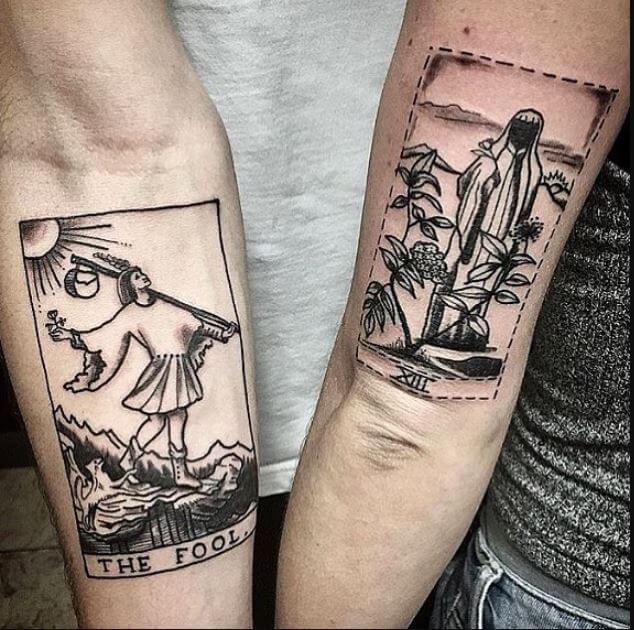 Unique Couple Tattoos