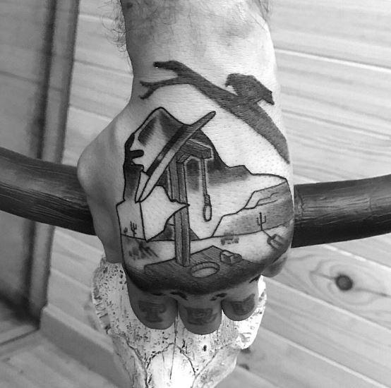 Unique Hand Tattoos