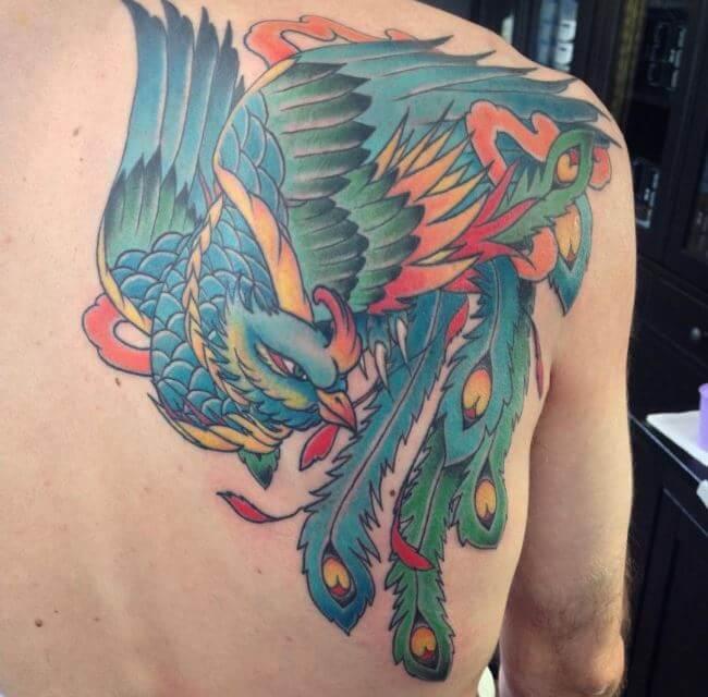 Unique Phoenix Tattoos