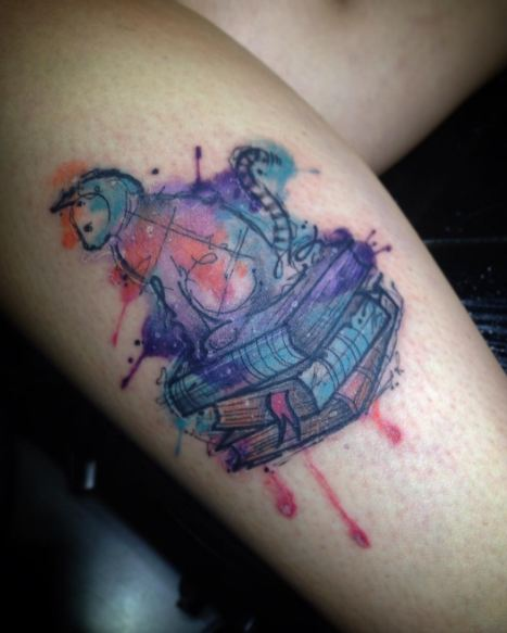 Water Color Sketch Style Tattoos