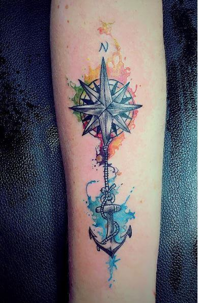 Watercolor Style Tattoos