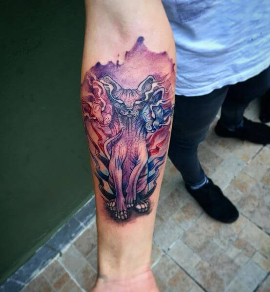 Watercolor Tattoo Designs For Men
