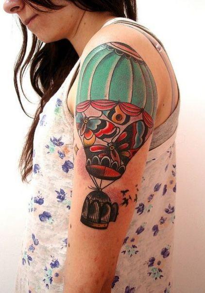 Women Sleeve Tattoos