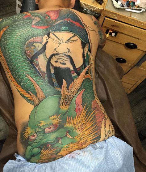 Wonderful Full Body Tattoos