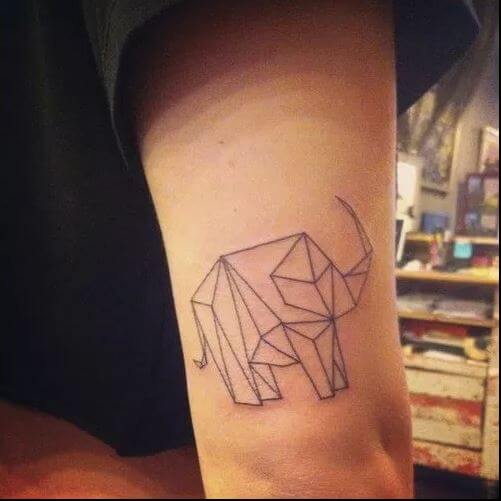 Abstract Elephant Tattoos Design And Ideas