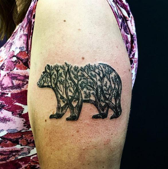 Bear Tattoo On Instagram